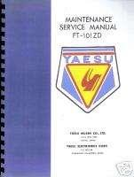 YAESU FT  101 ZD Shop and Service Manual