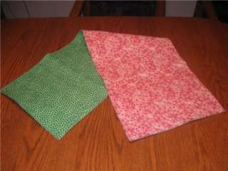 Handcrafted Table Runner St Patricks Day Valentines Day Tiny Hearts