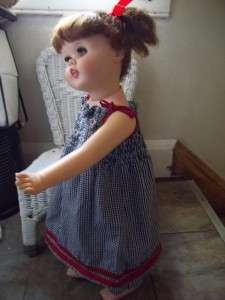 1960s Little Girl Toodles Walker Baby Doll American Character