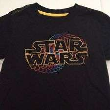 Star Wars Shirt Black And Yellow Boys 24 Mos