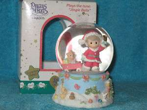 Precious Moments Musical Snow Globe (2000) New In Box