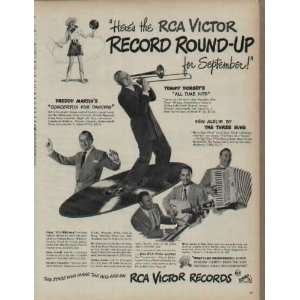 Heres the RCA Victor Record Round Up for September Tommy Dorseys
