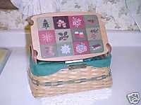 Longaberger 2002 Traditions Christmas Basket
