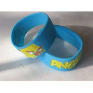 Angry Birds Silicone Rubber Bracelet Blue Color