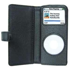 Ipod Nano Leather Case W/ Microfiber Bag  Players & Accessories
