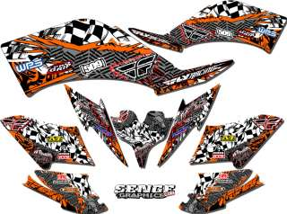 THUNDERCAT GRAPHICS KIT ATV QUAD 4 FOUR WHEELER STICKERS DECALS DECO