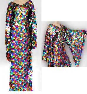 Da NeeNa M019 Vegas Showgirl Dance Drag Queen Dress XS XL
