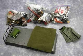 Large LOT GI Joe Hasbro Accessories Exploded Jeep Guns Set Pieces