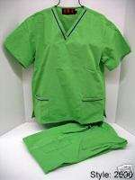 TONE CARGO KIWI MEDICAL NURSE SCRUB UNIFORM LARGE