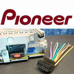PIONEER PLUG HARNESS DEH 1800 DEH 2800MP DEH 1500 DEH 9