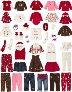 GYMBOREE Alpine Sweetie Skirt Top Pants Dress UPick NWT