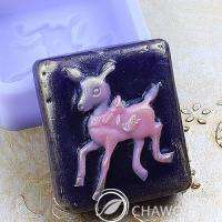 Baby deer Silicone Mold for soap making Candle making homemade