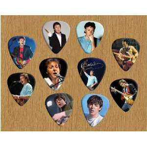 Paul McCartney Beatles Loose Guitar Picks X 10 (Limited to