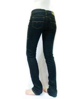 Women Stretch Super Slim Skinny Dark Blue Getlegg 881K Jeans