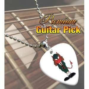 AC/DC Angus Young Devil Premium Guitar Pick Necklace