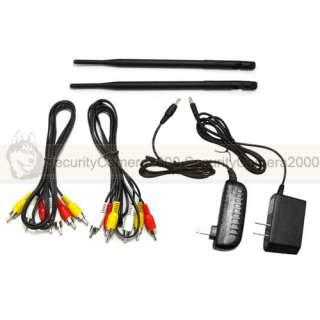 4CH Wireless Video/Audio Transmitter/Receiver Kit 2.4GH