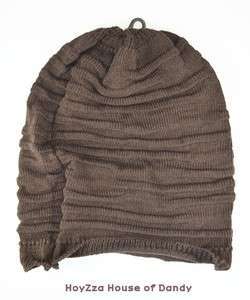 Mens Baggy Long Beanie Light Weight Casual Style Soft & Loose Board