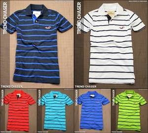 2012 Spring Hollister HCO Mens Polo Shirt Shell Beach NWT