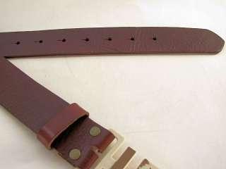 American Rag Buckleless Men Belt 40MM Leather Brown S