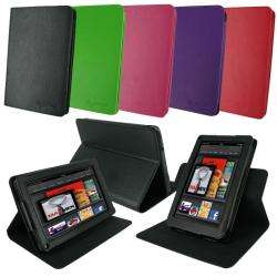 rooCASE Kindle Fire Dual View Leather Case Cover