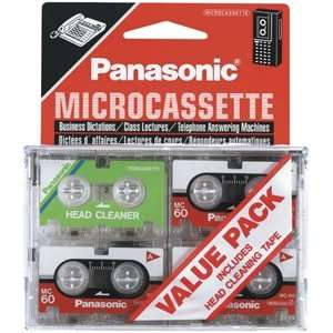 Panasonic RT603VP Micro Cassette Recorder Electronics