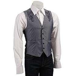 English Laundry Mens London Blue Vest