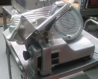 COMMERCIAL MANUAL MEAT SLICER 11801 ham, turkey, restaurant, used