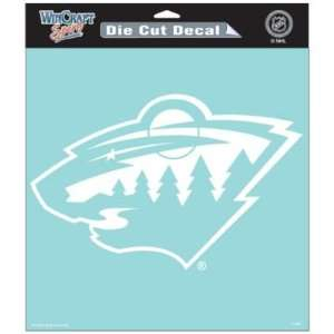 WILD OFFICIAL LOGO 8x8 CLEAR DIE CUT DECAL