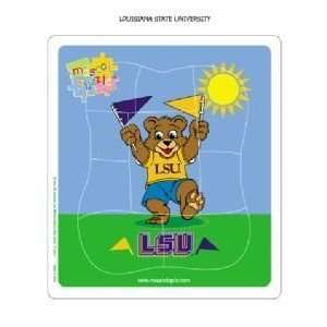 LSU Fighting Tigers Kids/Childrens Team Mascot Puzzle NCAA