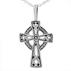 Sterling Silver Celtic Cross Necklace