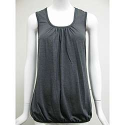 Simply Irresistible Womens Studded Racerback Tunic Tank Top
