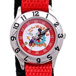 Disney Time Teacher Mickey Boys Watch