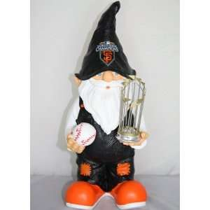 San Francisco Giants 2010 World Series Champions Garden Gnome