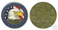 OPERATION NOBLE EAGLE 9 11 01 MILITARY CHALLENGE COIN