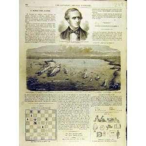 1863 Portrait Estrada Island Ouessant French Print