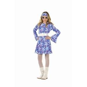 70s Fever   Blue Dress Child X Large (XL) Costume: Toys