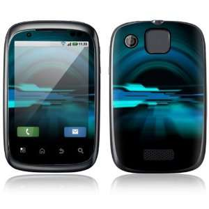 Abstract Future Night Blue Design Protective Skin Decal