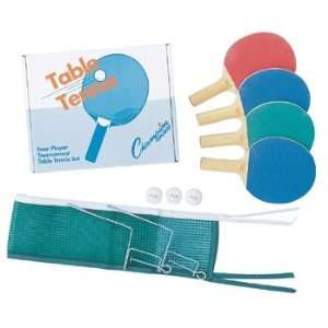 Four Player Table Tennis Set   4 sets per case Sports