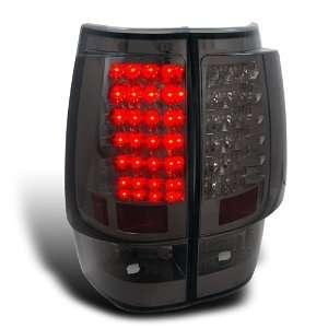 GMC YUKON DENALI/ CHEVY TAHOE SMOKED LED TAIL LIGHTS