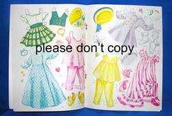 VTG 1950S LITTLE SWEETHEARTS, SUSAN & KAREN UNCUT BOOK PAPER DOLLS