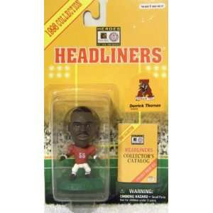 1998 NFL College Headliners Derrick Thomas Toys & Games
