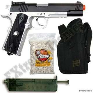Metal Taurus PT92 Green Gas Airsoft Hand Gun 380 FPS