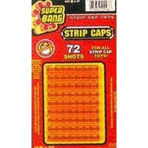Ja Ru Super Bang Strip Caps 72 (Pack of 12): Toys & Games