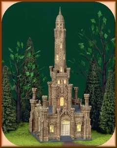 Historic Chicago Water Tower Dept. 56 Christmas In The City D56 CIC
