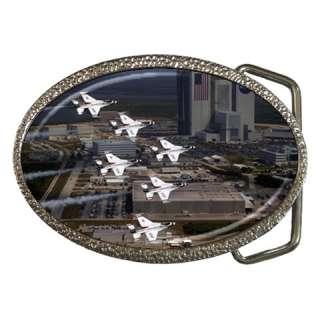 US Air Force Thunderbird F 16 Jets Belt Buckle