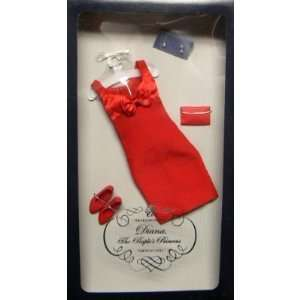 Princess Diana, The Peoples Princess, Red Cocktail Dress Outfit: Toys