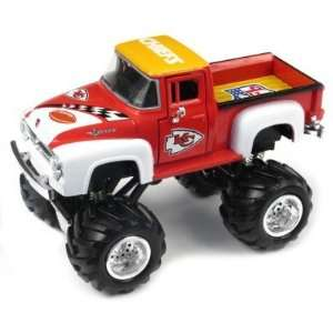 UD NFL 56 Ford Monster Truck Kansas City Chiefs  Sports