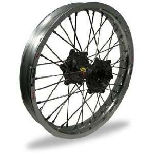 Pro Wheel Pro Wheel 3.50x17 Super Moto Front Wheel   Silver Rim/Black