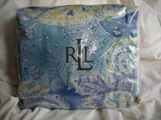 Ralph Lauren Jamaica BLUE QUEEN duvet cover NIP 028828117472