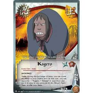 Naruto Battle of Destiny N 301 Kagero Uncommon Card: Toys